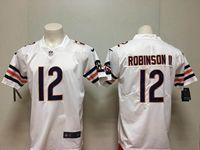 Mens Nfl Chicago Bears #12 Allen Robinson White Vapor Untouchable Limited Player Jersey