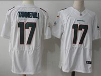 Mens Nike Nfl Miami Dolphins #17 Ryan Tannehill White Elite Player Jersey