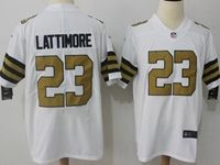 Mens Nfl New Orleans Saints #23 Marshon Lattimore White Vapor Untouchable Color Rush Limited Player Jersey