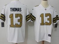 Mens Nfl New Orleans Saints #13 Michael Thomas White Vapor Untouchable Color Rush Limited Player Jersey