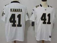 Mens Nfl New Orleans Saints #41 Alvin Kamara 2018 White Vapor Untouchable Limited Jersey