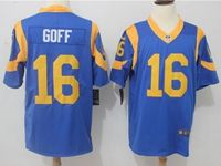 Mens Nfl St.louis Rams #16 Jared Goff Light Blue Vapor Untouchable Limited Jersey
