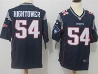 Mens Nfl New England Patriots #54 Dont'a Hightower Blue Nike Game Jersey
