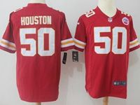 Mens Nfl Kansas City Chiefs #50 Justin Houston Red Nike Game Jersey