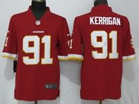 Mens Nfl Washington Redskins #91 Ryan Kerrigan Red Vapor Untouchable Limited Player Jersey