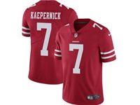 Mens Nfl San Francisco 49ers #7 Colin Kaepernick Red Vapor Untouchable Limited Jersey