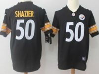 Mens Nfl Pittsburgh Steelers #50 Ryan Shazier Black Nike Game Jersey