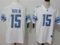 Mens Nfl Detroit Lions #15 Golden Tate Iii White Vapor Untouchable Limited Player Jersey
