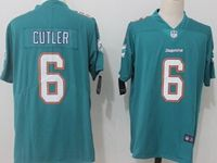Mens Miami Dolphins #6 Jay Cutler Green Vapor Untouchable Limited Player Jersey