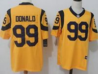 Mens Nfl St. Louis Rams #99 Aaron Donald Gold Vapor Untouchable Nike Limited Player Jersey
