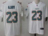 Mens Miami Dolphins #23 Jay Ajayi White Vapor Untouchable Limited Player Jersey