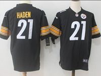 Mens Nfl Pittsburgh Steelers #21 Joe Haden Black Nike Game Jersey