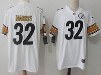 Mens Nfl Pittsburgh Steelers #32 Franco Harris White Vapor Untouchable Limited Jersey