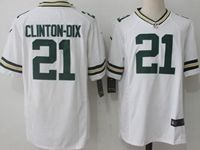 Mens Nfl Green Bay Packers #21 Haha Clinton-dix White Nike Game Jersey