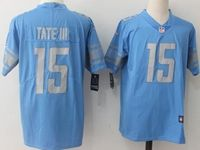 Mens Nfl Detroit Lions #15 Golden Tate Iii Blue Vapor Untouchable Limited Player Jersey