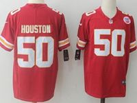 Mens Nfl Kansas City Chiefs #50 Justin Houston Red Vapor Untouchable Limited Jersey
