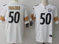 Mens Nfl Pittsburgh Steelers #50 Shazier White Nike Game Jersey