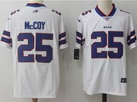 Mens Nfl Buffalo Bills #25 Lesean Mccoy White Vapor Untouchable Limited Player Jersey