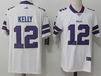 Mens Nfl Buffalo Bills #12 Jim Kelly White Vapor Untouchable Limited Player Jersey