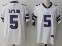 Mens Nfl Buffalo Bills #5 Tyrod Taylor White Vapor Untouchable Limited Player Jersey