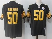 Mens Nfl Pittsburgh Steelers #50 Ryan Shazier Black Vapor Untouchable Color Rush Limited Player Jersey
