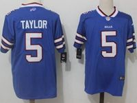Mens Nfl Buffalo Bills #5 Tyrod Taylor Blue Vapor Untouchable Limited Player Jersey