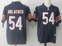Mens Nfl Chicago Bears #54 Brian Urlacher Blue Vapor Untouchable Limited Player Jersey