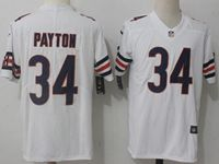 Mens Nfl Chicago Bears #34 Walter Payton White Vapor Untouchable Limited Player Jersey