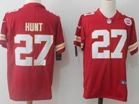 Mens Nfl Kansas City Chiefs #27 Kareem Hunt Red Vapor Untouchable Limited Player Jersey