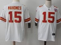 Mens Nfl Kansas City Chiefs #15 Patrick Mahomes White Nike Game Jersey