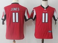 Youth Nfl Atlanta Falcons #11 Julio Jones Red Nike Game Jersey