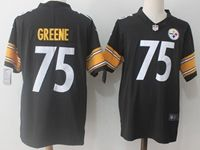 Mens Nfl Pittsburgh Steelers #75 Greene Black Vapor Untouchable Limited Jersey
