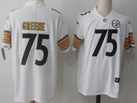 Mens Nfl Pittsburgh Steelers #75 Greene White Vapor Untouchable Limited Jersey