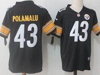 Mens Nfl Pittsburgh Steelers #43 Troy Polamalu Black Vapor Untouchable Limited Jersey