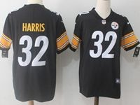 Mens Nfl Pittsburgh Steelers #32 Franco Harris Black Vapor Untouchable Limited Jersey