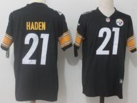 Mens Nfl Pittsburgh Steelers #21 Joe Haden Black Vapor Untouchable Limited Jersey
