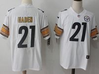 Mens Nfl Pittsburgh Steelers #21 Joe Haden White Vapor Untouchable Limited Jersey