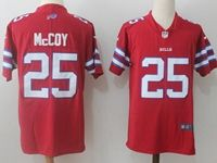 Mens Nfl Buffalo Bills #25 Lesean Mccoy Red Vapor Untouchable Color Rush Limited Player Jersey