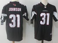 Mens Nfl Arizona Cardinals #31 David Johnson Black Vapor Untouchable Limited Jersey