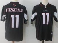 Mens Nfl Arizona Cardinals #11 Larry Fitzgerald Black Vapor Untouchable Limited Player Jersey