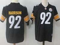 Mens Nfl Pittsburgh Steelers #92 James Harrison Black Vapor Untouchable Limited Jersey
