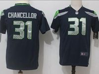 Mens  Nfl Seattle Seahawks #31 Kam Chancellor Blue Vapor Untouchable Limited Player Jersey