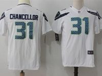 Youth Nfl Seattle Seahawks #31 Kam Chancellor White Nike Game Jersey