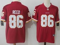 Mens Nfl Washington Redskins #86 Jordan Reed Red Vapor Untouchable Limited Jersey