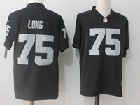 Mens Nfl Oakland Raiders #75 Howie Long Black Vapor Untouchable Limited Jersey