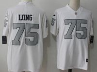 Mens Nfl Oakland Raiders #75 Howie Long White Vapor Untouchable Color Rush Limited Player Jersey