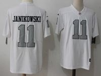 Mens Nfl Oakland Raiders #11 Sebastian Janikowski White Vapor Untouchable Color Rush Limited Player Jersey