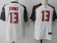 Mens Nfl Tampa Bay Buccaneers #13 Mike Evans White Nike Game Jersey