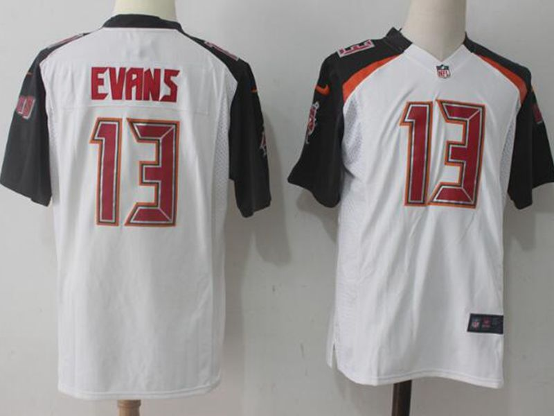 Mens Nfl Tampa Bay Buccaneers #13 Mike Evans White Nike Game Jersey