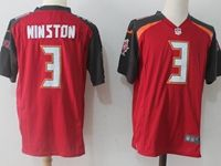 Mens Nfl Tampa Bay Buccaneers #3 Jameis Winston Red Nike Game Jersey